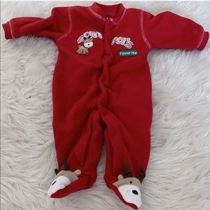 Carters Santa's Favorite Newborn Onesie